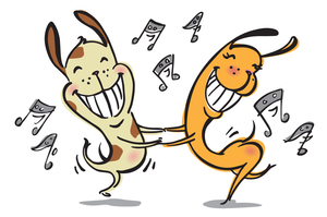 Free Animated Clipart Graphics Happy Dance.