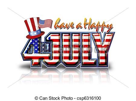 Free happy fourth of july clipart » Clipart Station.