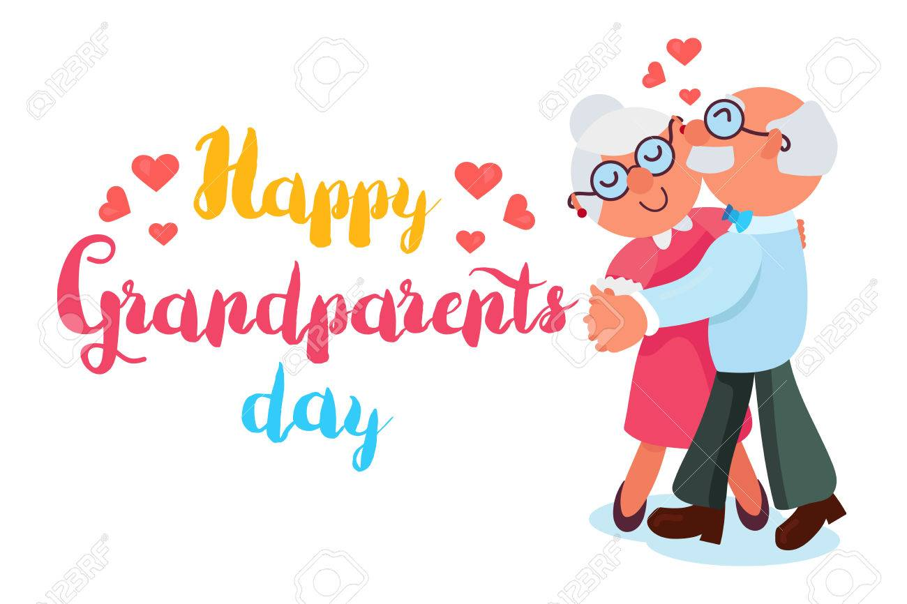 Happy Grandparents Day banner..