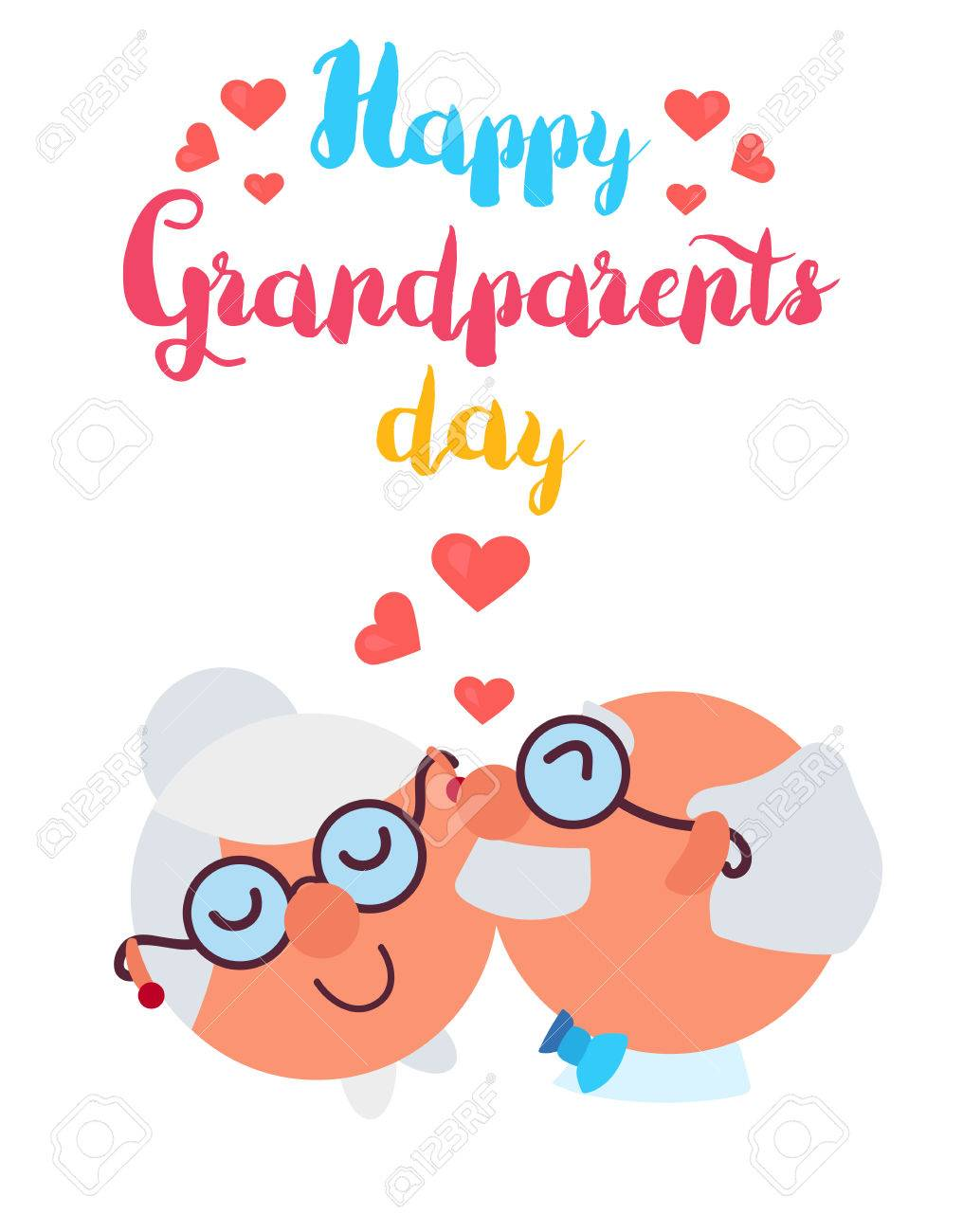 Happy Grandparents Day banner..