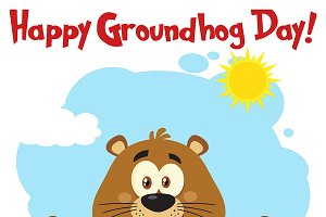 Free happy groundhog day clipart 4 » Clipart Station.