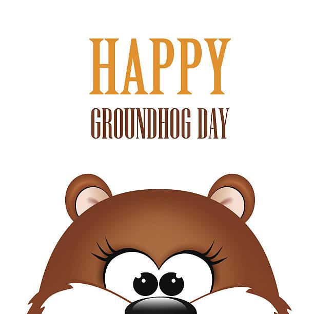 Best Groundhog Day Illustrations, Royalty.