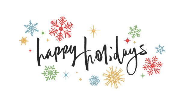 Happy Holidays Clip Art Pretty Free Superb 11.