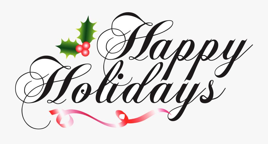 Holiday Happy Holidays Clipart The Cliparts Free Happy.