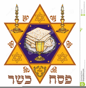 Passover Seder Clipart.