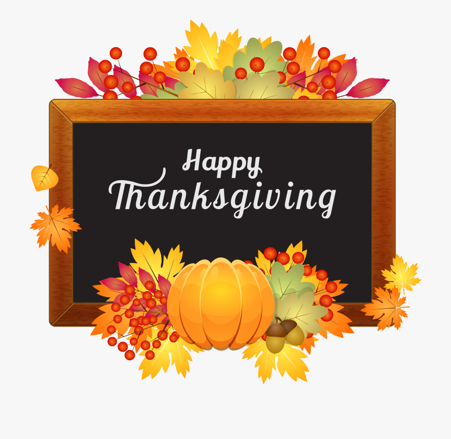 Thanksgiving Clipart Transparent Background Pencil.