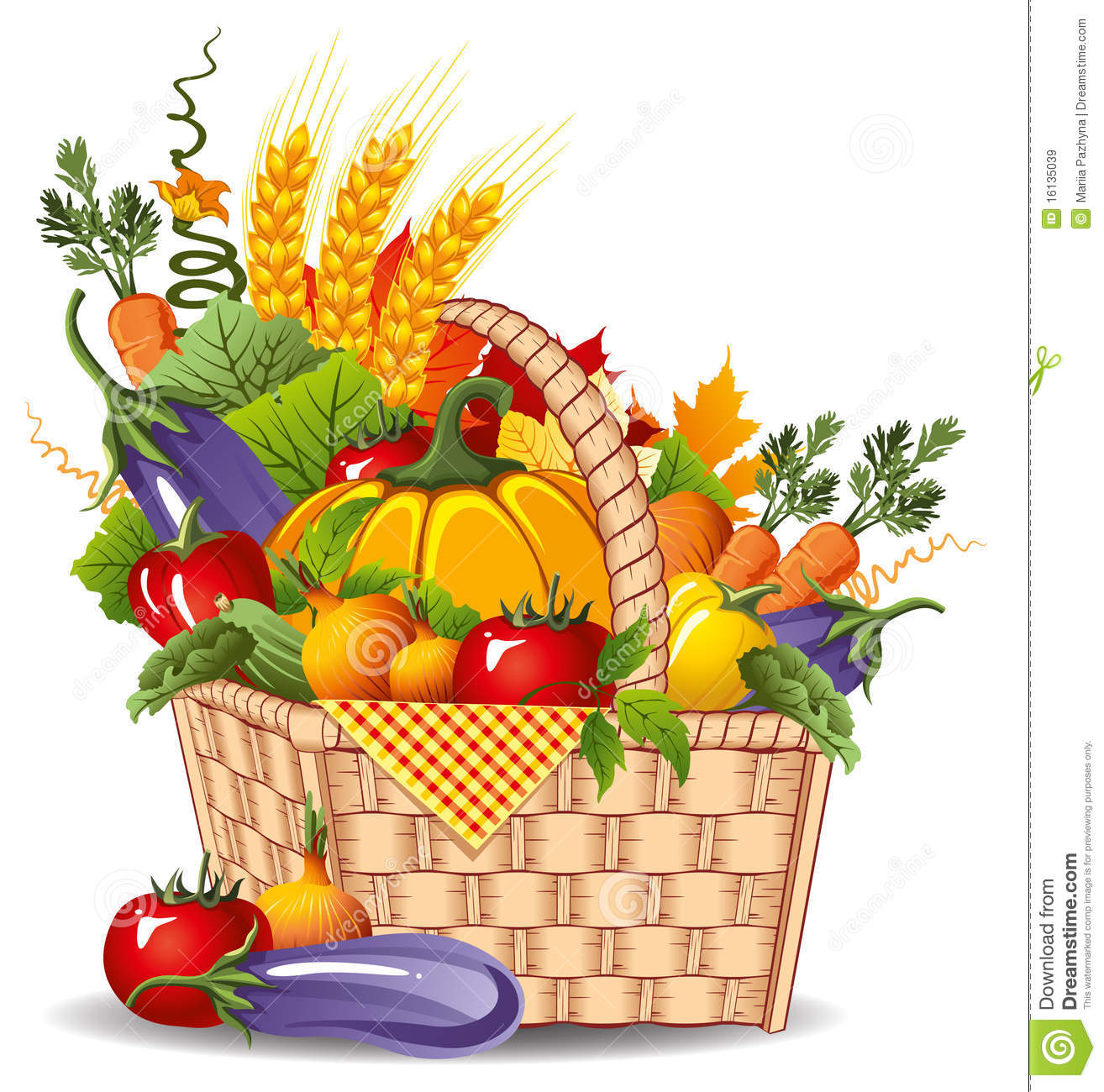 Christian Harvest Clipart.