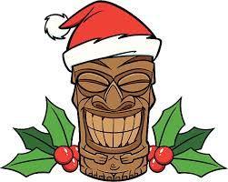 Image result for hawaiian christmas clip art.