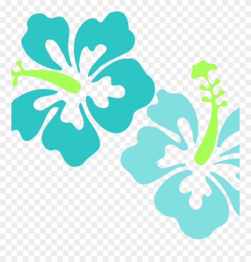Free Hawaiian Clip Art Hawaiian Luau Border Clipart.