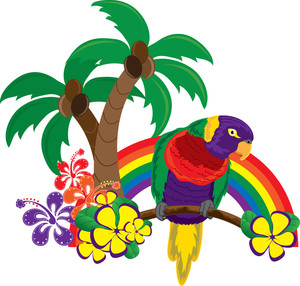 Hawaiian Clipart Images.