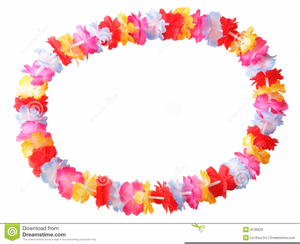 Free Clipart Of Hawaiian Leis.