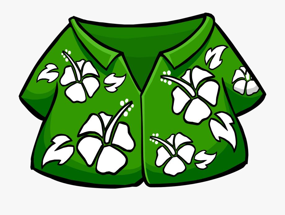 Hawaiian Shirt Clip Art.