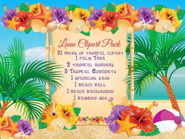 25+ Hawaii Landscape Border Clip Art Pictures and Ideas on Pro Landscape.