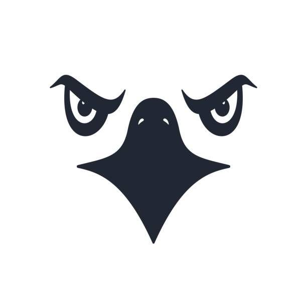 Royalty Free Hawk Mascot Clip Art, Vector Images.