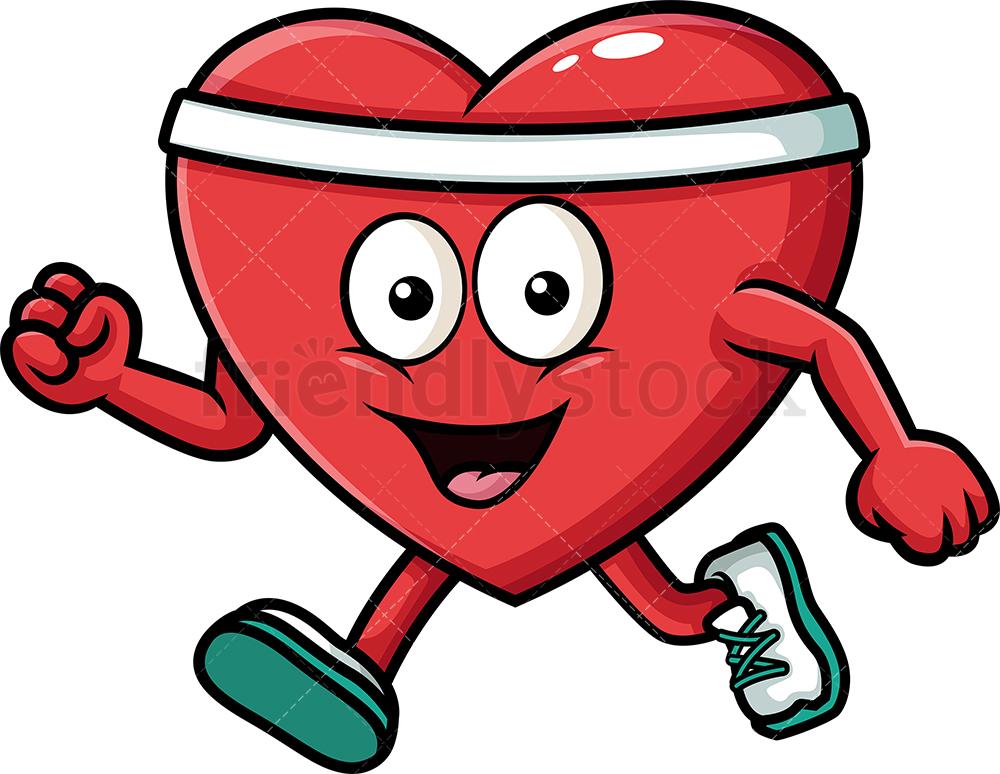 Healthy Heart Exercising.