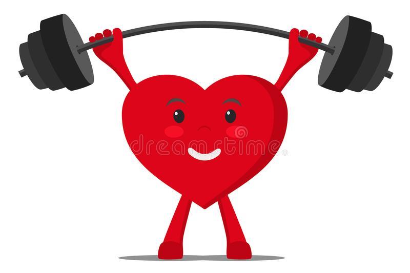 Healthy Heart Stock Illustrations.