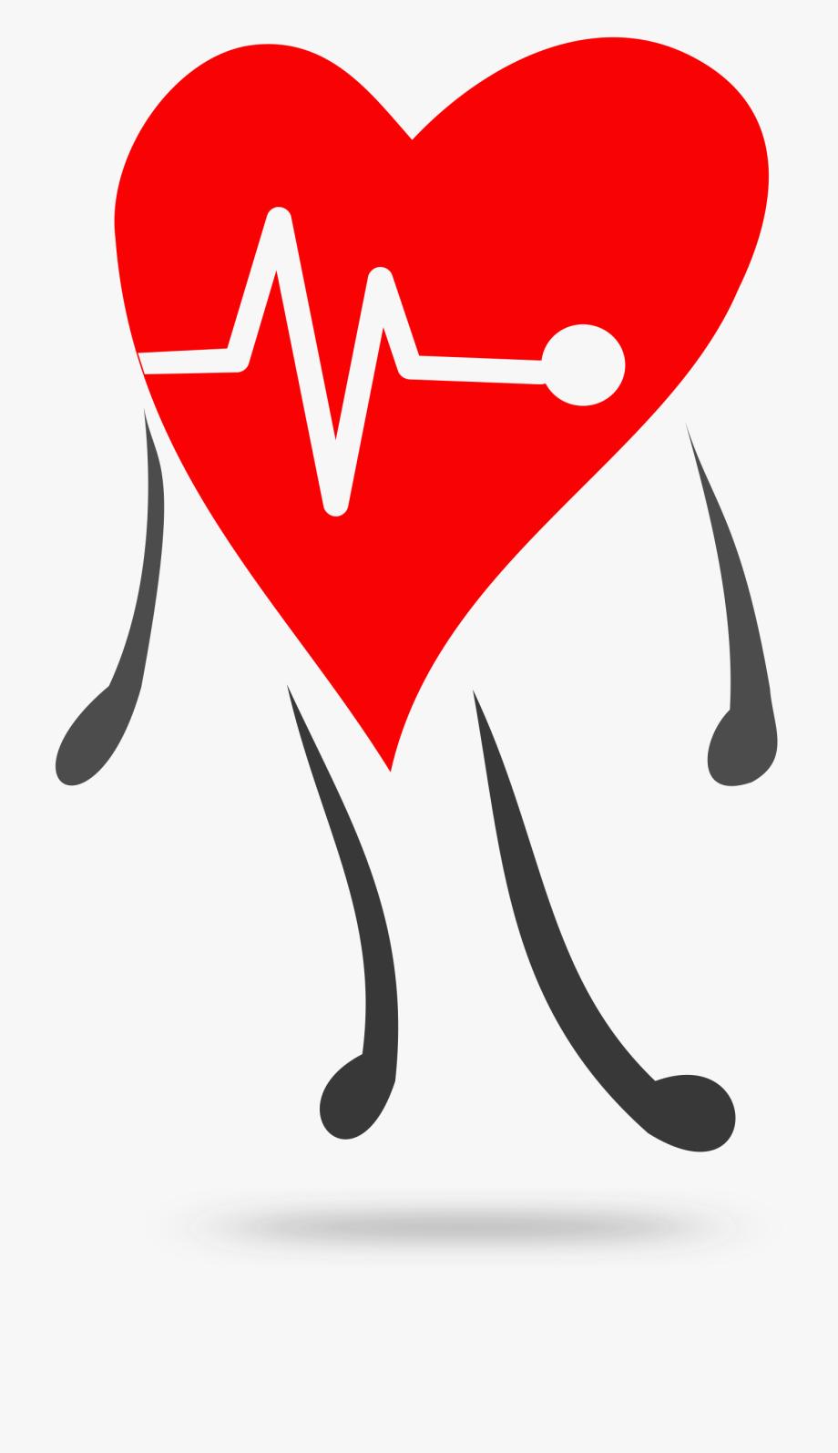 Heartbeat Clipart Healthy.