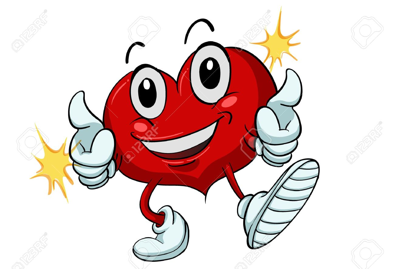 Healthy heart clipart 2 » Clipart Station.