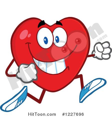 Healthy Heart Clipart #1.