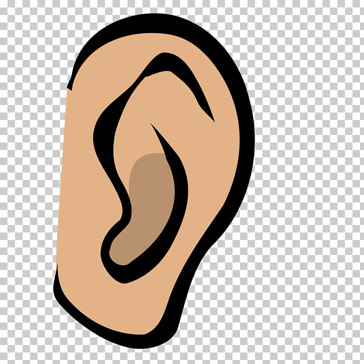 Hearing , ear PNG clipart.