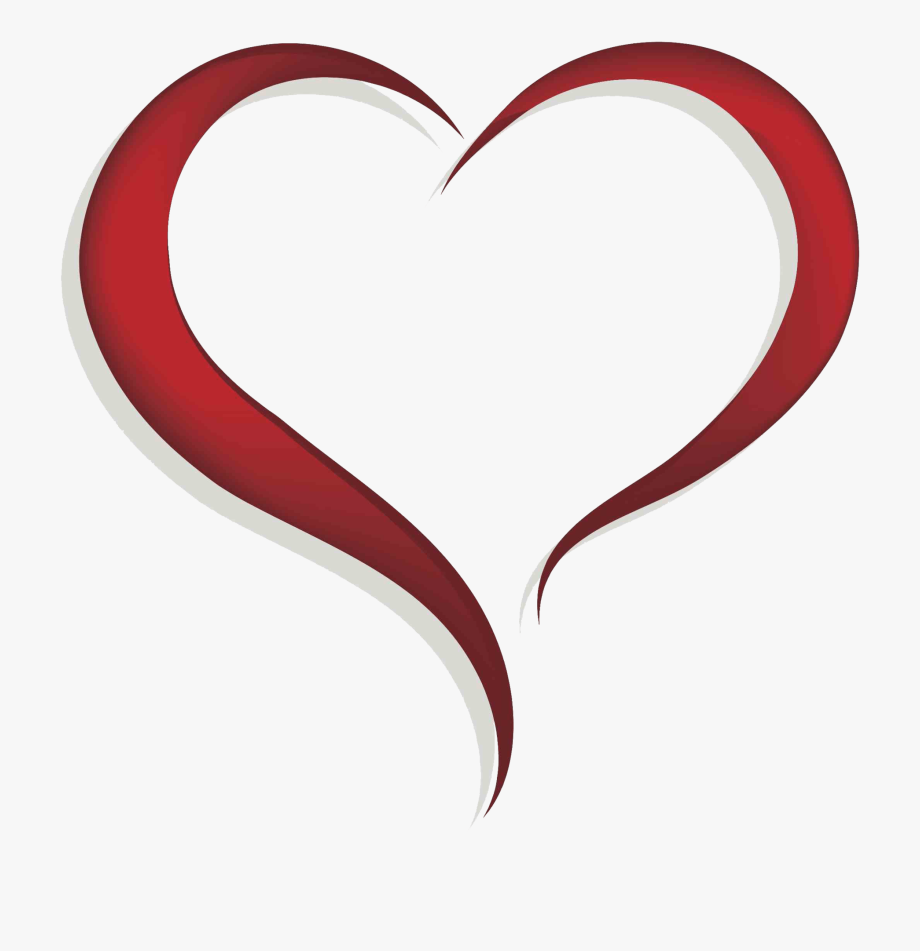 Clip Royalty Free Library Open Heart Clipart.