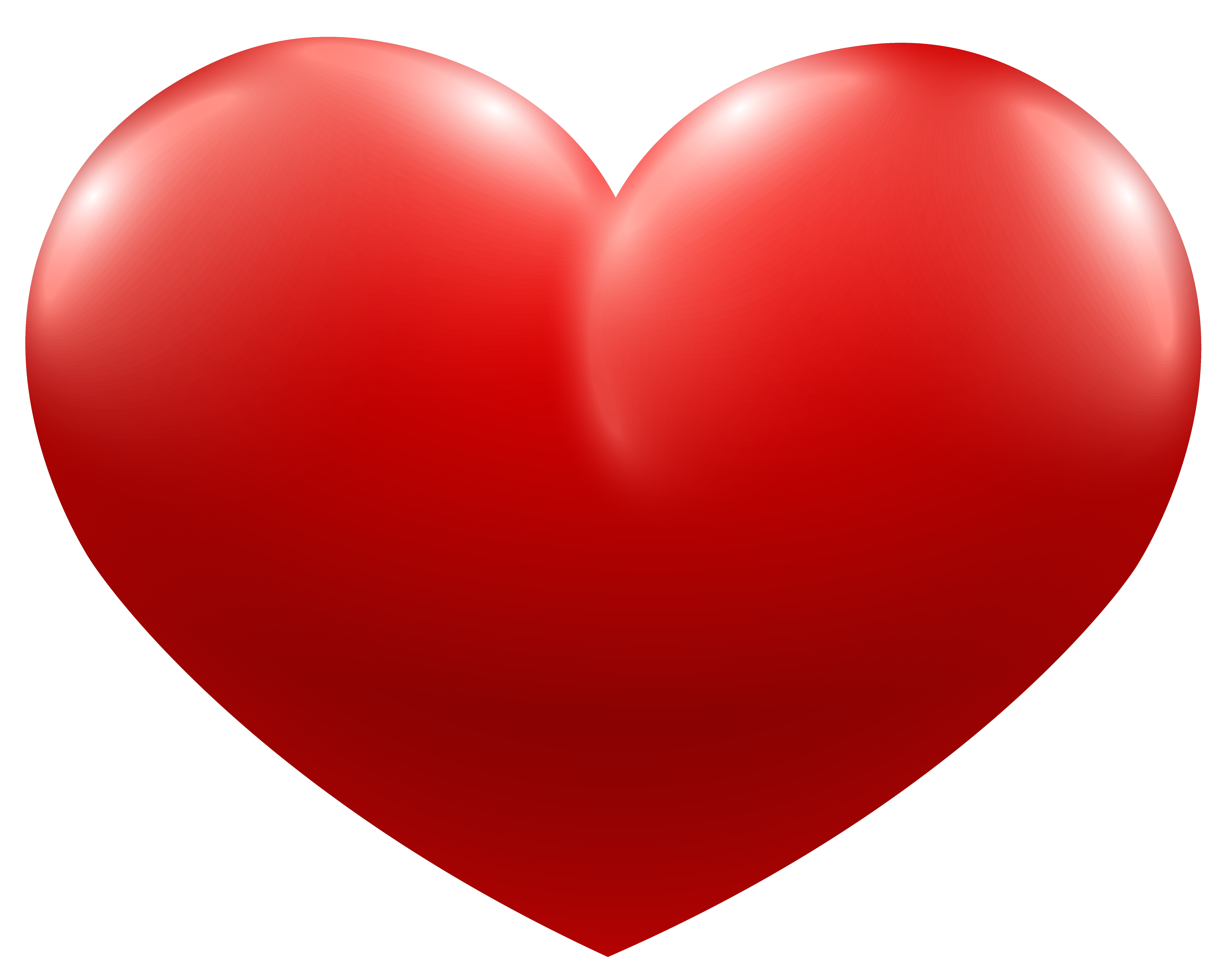 Red Heart PNG Image.