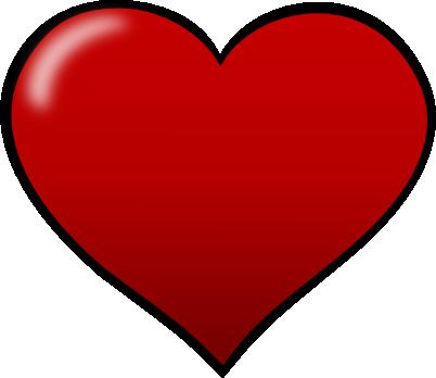 Free Heart Shape Clip Art.
