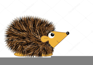 Free Hedgehog Clipart.