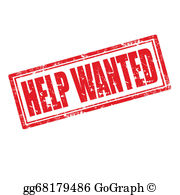 Help Wanted Clip Art.