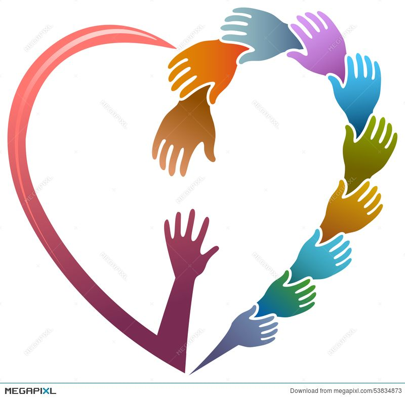 Image result for free clip art helping hands.