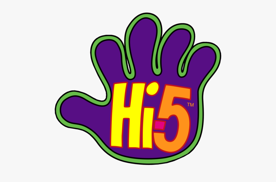 High Five Hand Clipart.