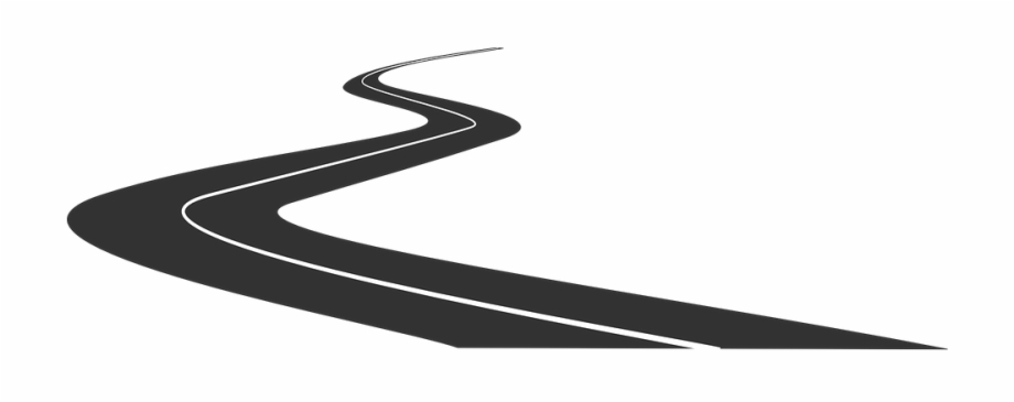 Free Download Highway Vector Curved.