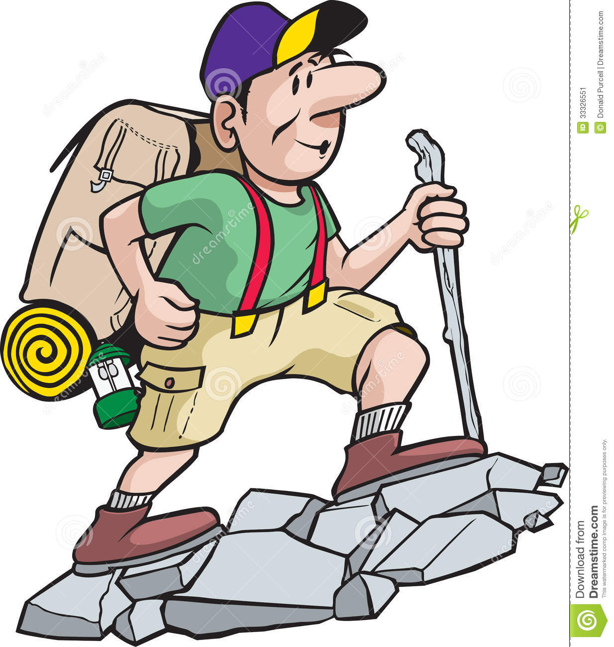 Free Hiking Clipart Images.