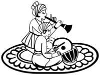 Hindu Wedding Clipart Black And White.