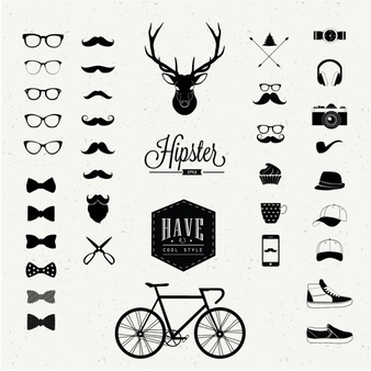 Hipster Vectors, Photos and PSD files.