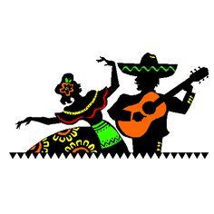 Hispanic Heritage Month Clip Art.