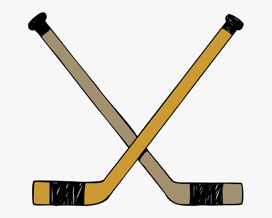Hockey Sticks Clip Art.