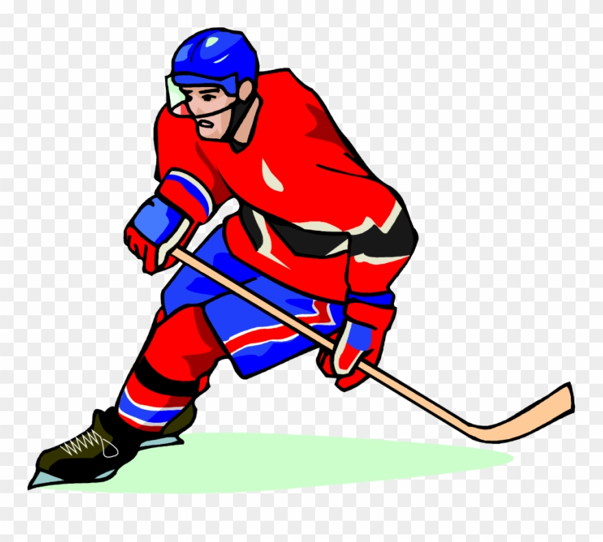 Free Hockey Player Vector Art Clip Art Image From Free.