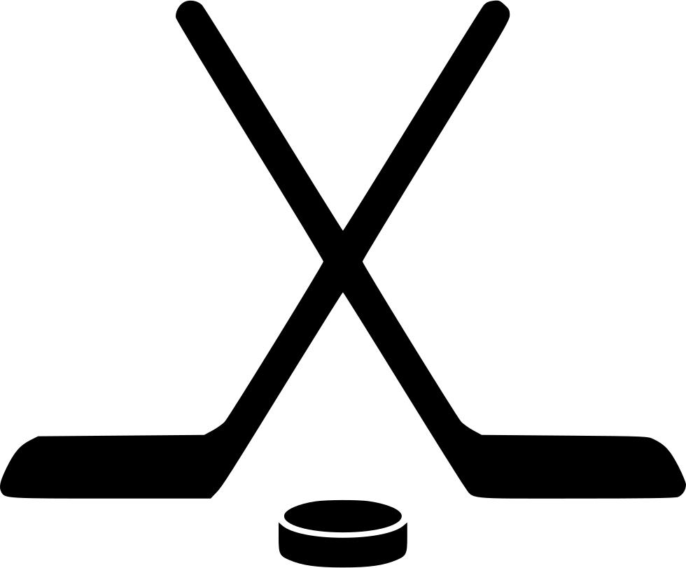 Free Hockey Stick Clipart.