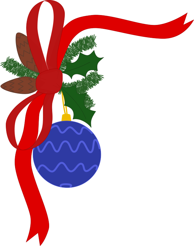 Free Holiday Clipart Christmas Decorations.