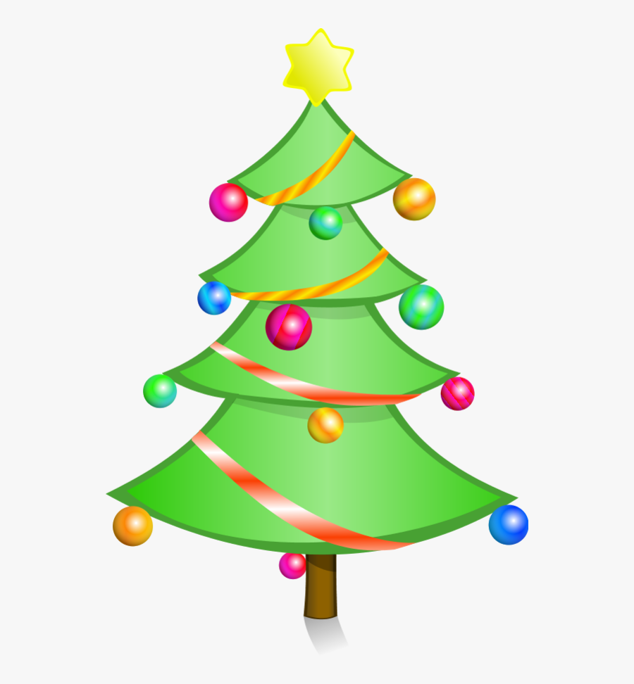Christmas Tree Clipart Free Holiday Graphics.