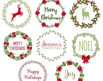 Free Christmas Wreath Cliparts, Download Free Clip Art, Free.