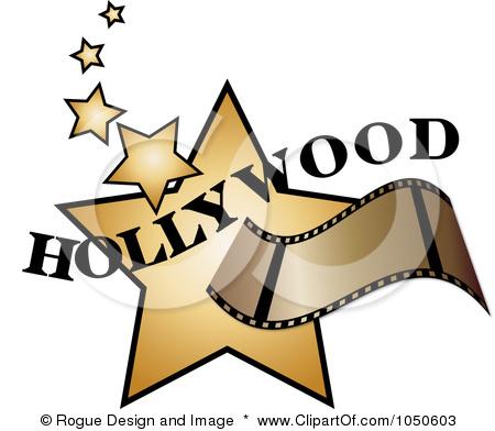 Hollywood Stars Clipart.
