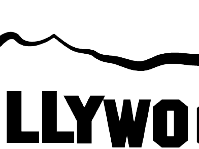 Hollywood sign outline clipart images gallery for free download.