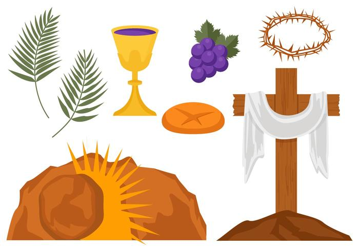 107 Holy Week free clipart.