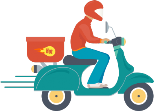 Free Home Delivery Vector Png , Transparent Cartoon.