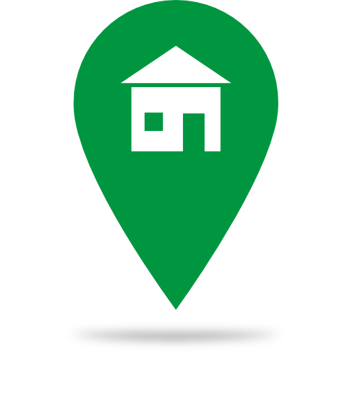 Green Home Icon Clipart.