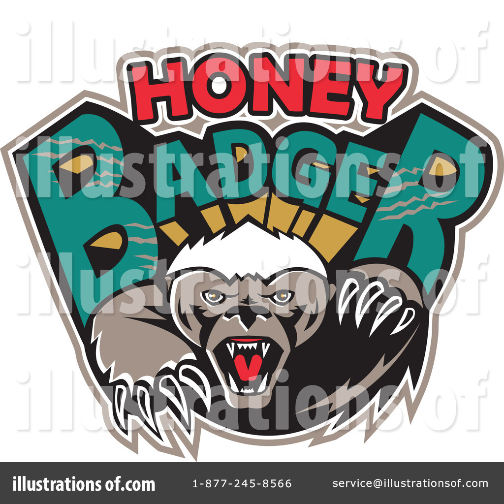 Honey Badger Clipart #1214961.