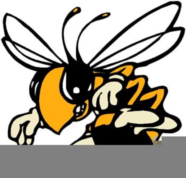 Free Hornet Mascot Clipart.