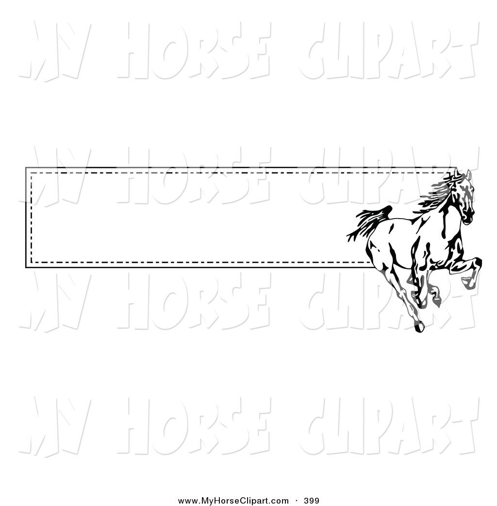 Horses clipart banner, Horses banner Transparent FREE for.
